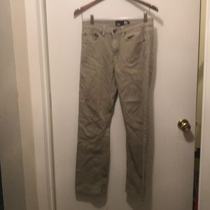 RSQ London Skinny Boys size 18 regular, khaki jean